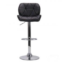 Барный стул Vensan без канта (черный) АМФ