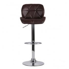 Барный стул Vensan без канта (коричневый) АМФ