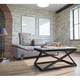 Стол журнальный Лонг Бент Металл-Дизайн | Loft