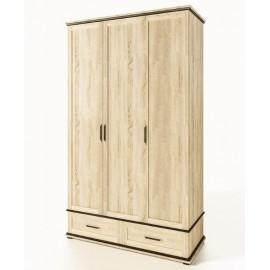 Шкаф платяной 3ДШ Палермо Світ Меблів