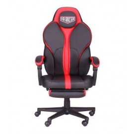 Кресло VR Racer Edge Iron черный/красный (Релакс) АМФ 521344