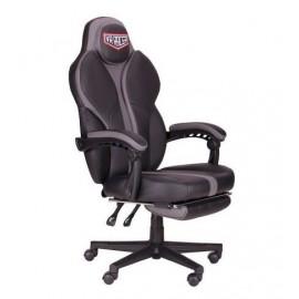 Кресло VR Racer Edge Napa черный/серый (Релакс) АМФ 521346