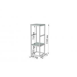 Барная стойка Модуль мини Металл-Дизайн | Loft