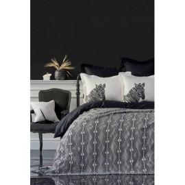 Набор постельное белье с пледом Burundi 2019-1 Karaca Home