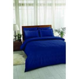 Постельное белье Vision lacivert синий (сатин жаккард) TAC