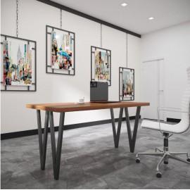 Обеденный стол Ви-4 (120) Металл-Дизайн | Loft