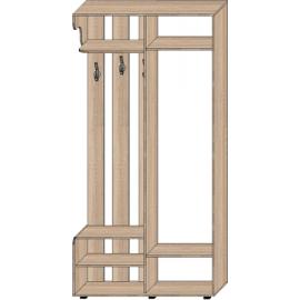 Прихожая Уют с одной раздвижной дверью (1200 х 400 х 2400) Алекса