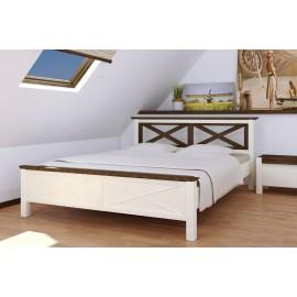 Кровать Нормандия (сосна) Микс Мебель
