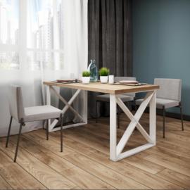 Обеденный стол Люксор (120) Металл-Дизайн | Loft