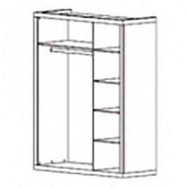Шкаф платяной 3D Кармен Гербор