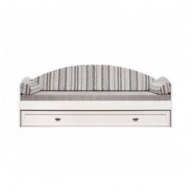 Кровать с ящиком LOZ 80 (Авеню полосатый) Салерно Гербор