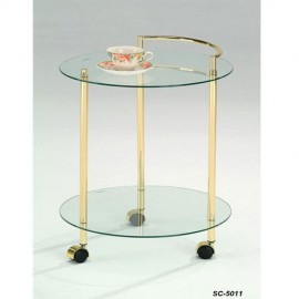 Стол сервировочный SC-5011 Прозрачный Onder Mebli