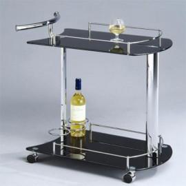 Стол сервировочный SC-5066-BG Черный Onder Mebli