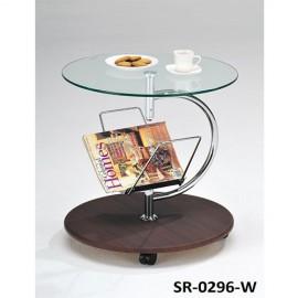 Столик кофейный SR-0296-W Орех Onder Mebli