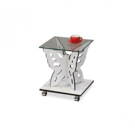 Столик кофейный SR-1122-WT Белый Onder Mebli