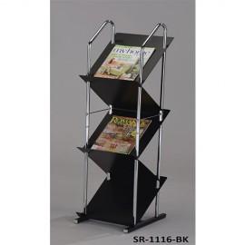Стойка для журналов и газет SR-1116-BK Onder Mebli