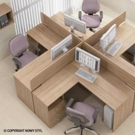 Стол письменный BZ106 R (120) Базис Новый стиль