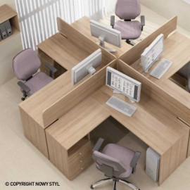 Секция мебельная BZ613 Базис Новый стиль