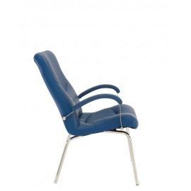 Кресло Germes steel CFA LB chrome Новый стиль