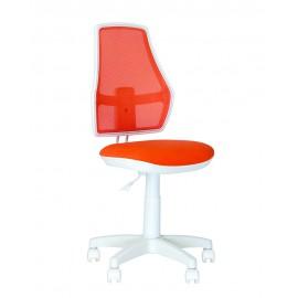 Детское кресло Fox GTS White (Подъёмно-поворотный) Новый стиль