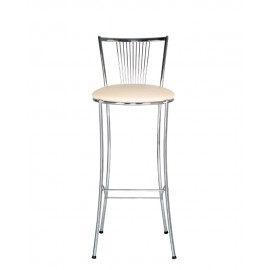 Барный стул FOSCA hoker chrome Новый стиль