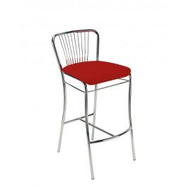Барный стул NERON hoker chrome (BOX) Новый стиль