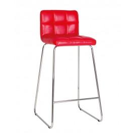 Барный стул RALPH LB hoker CFS chrome (BOX) Новый стиль