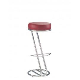 Барный стул ZETA hoker chrome (BOX-2) Новый стиль