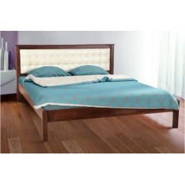Кровать Карина (мягкое изголовье) Микс Мебель