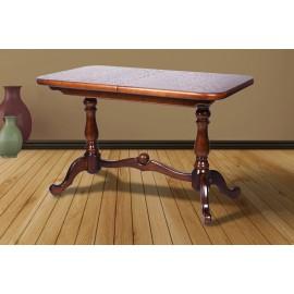 Обеденный раскладной стол Дуэт 120 (сосна) Микс Мебель