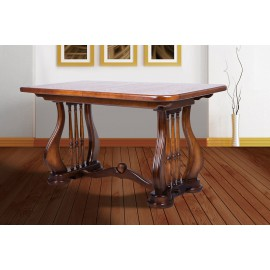 Обеденный раскладной стол Арфа (сосна) Микс Мебель