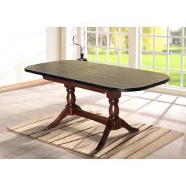 Обеденный раскладной стол Орфей 160 (бук) Микс Мебель