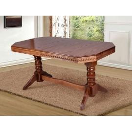 Обеденный раскладной стол Буковель (бук) Микс Мебель