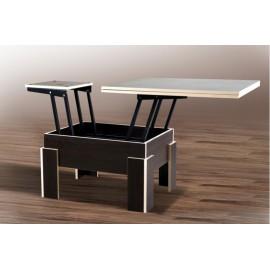 Стол - трансформер Дельта (венге + молочная кромка) Микс Мебель
