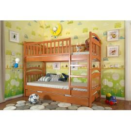 Кровать двухъярусная (трансформер) Смайл Arbor Drev